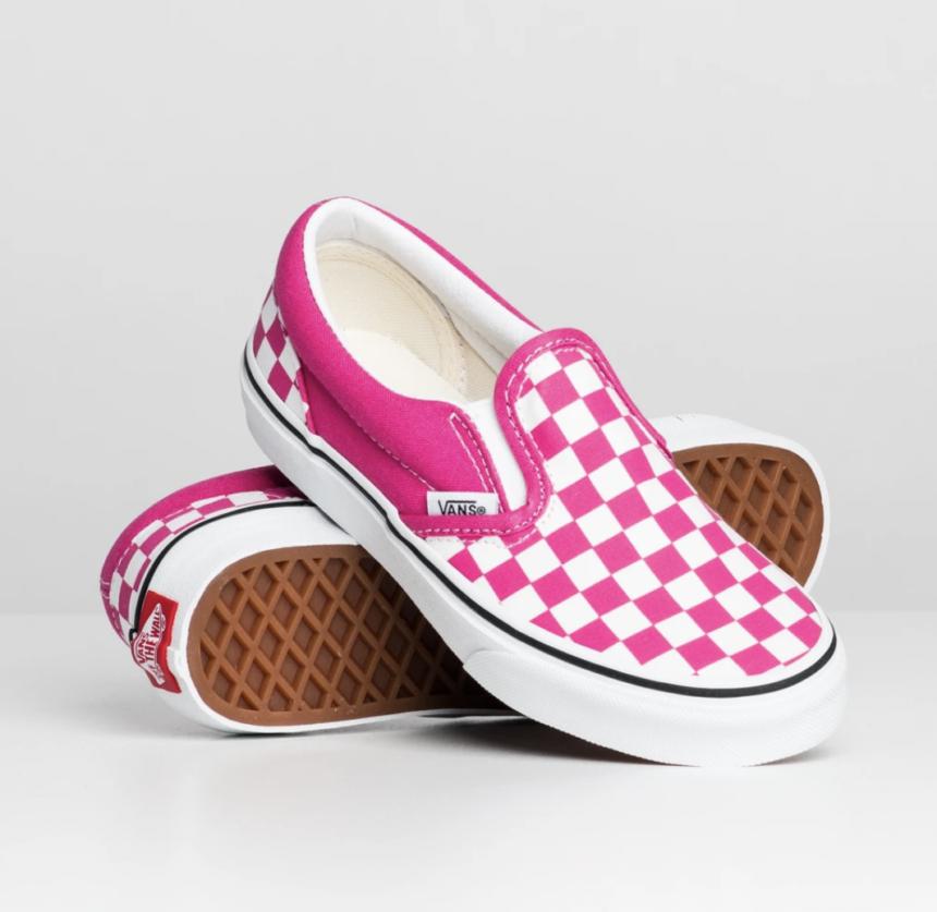 Girl's Classic Slip on Vans