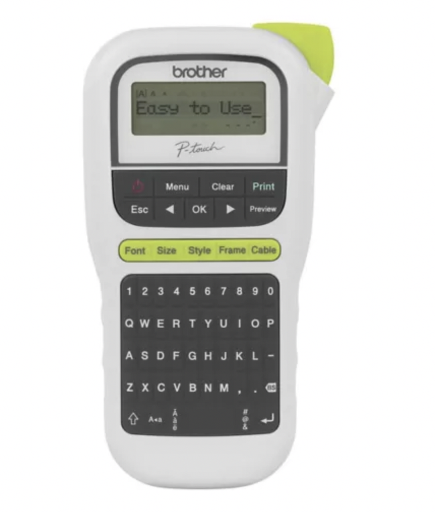 Brother Easy-to-use Portable Label Maker