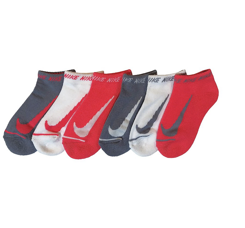 Nike Swoosh kids no-show socks