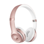 The Source Beats Solo On-Ear Headphones - rose gold