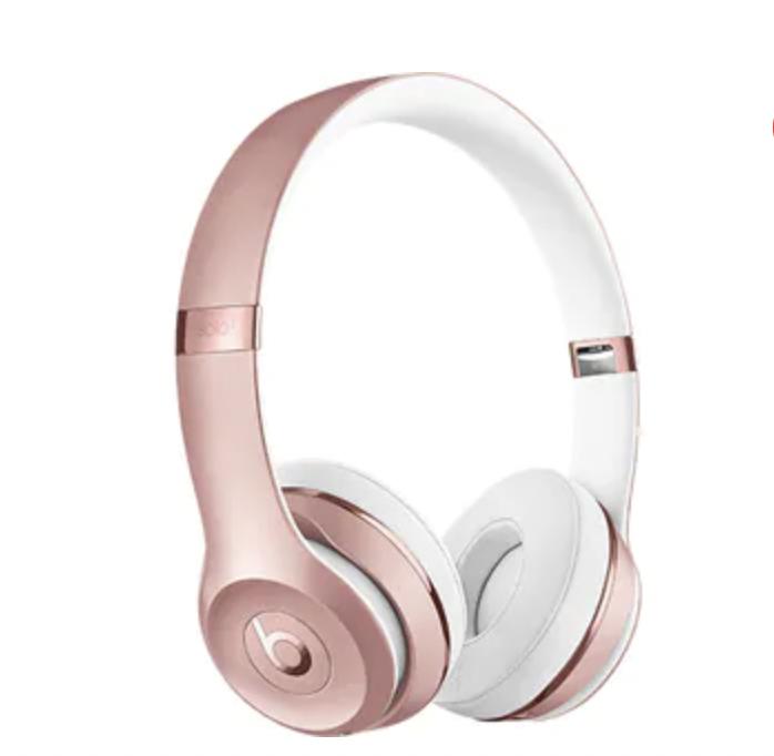 Beats Solo On-Ear Headphones – rose gold