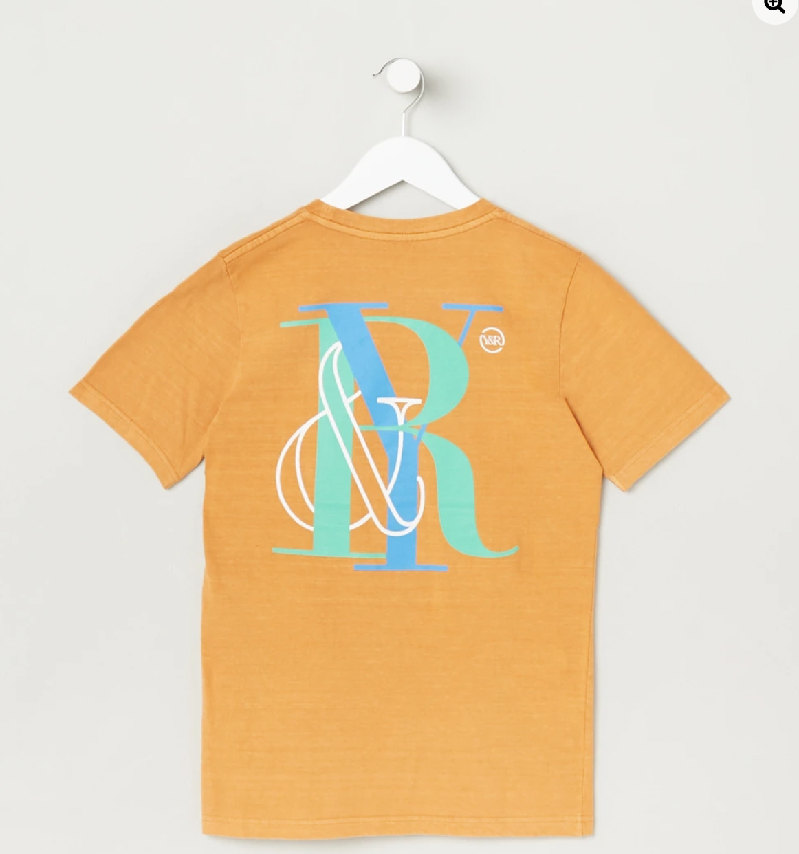 Young & Reckless Pigment Wash Oversize tee