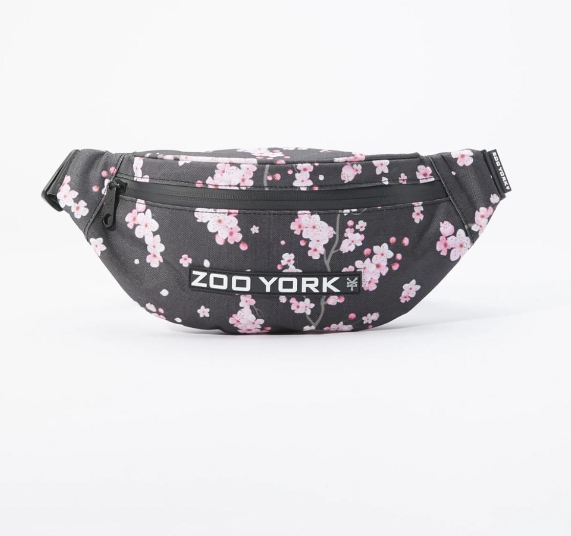 Zoo York Cherry Blossom Print Fanny Pack