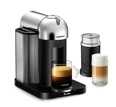 Nespresso Vertuo Coffee Machine and Milk Frother