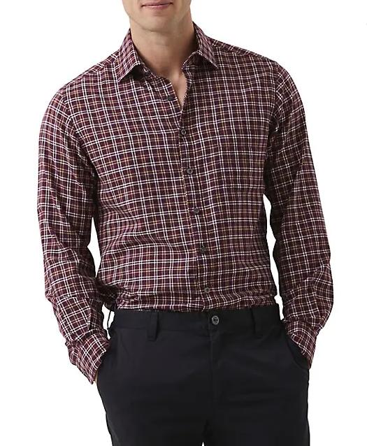 Rodd & Gunn Mount Richards Check Flannel Shirt