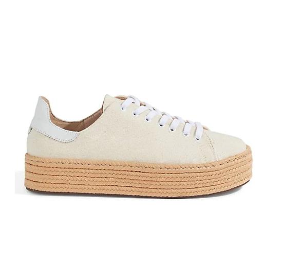 Schutz Clover Espadrille Flatform Sneakers