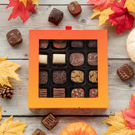 Chocolatier Fall Flavours Gift Box 16pc