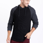 Warehouse One Heavy Waffle Hooded Top