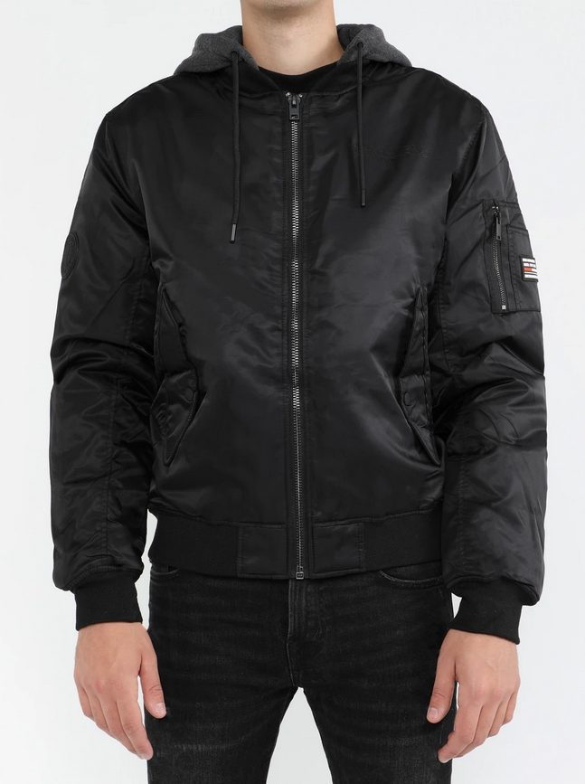 Young & Reckless Nylon Bomber Jacket